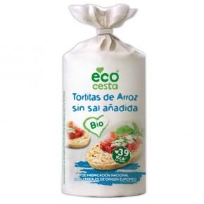 TORTITAS DE ARROZ S/SAL BIO, 115 g (ECOCESTA)