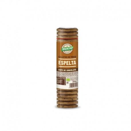 GALLETA ESPELTA CHOCO BIOCOP          250 G