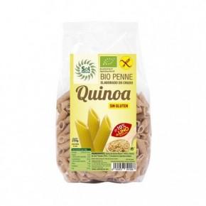 PENNE DE QUINOA CON LINO BIO S/GLUTEN 250 G, SOL