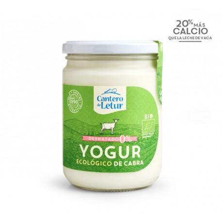 Yogur de cabra desnatado, 420, EL CANTERO
