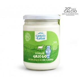 Yogur griego de cabra Bio, 420, EL CANTERO