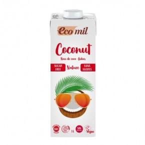 BEBIDA COCO NATURE (SIN AZUCAR) ECO 1L, ECOMIL