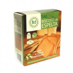 BISCOTES DE ESPELTA 270GR BIO, SOL NATURAL