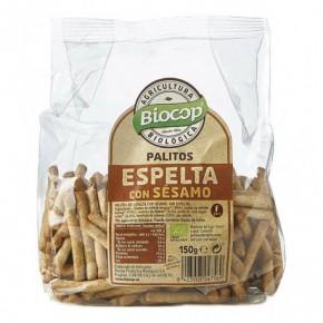 PALITOS ESPELTA SESAMO BIOCOP 150 G