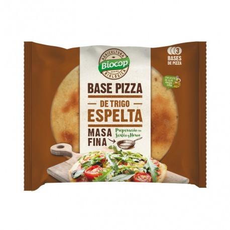 BASE PIZZA MASA FINA ESPELTA BIOCOP  390 G