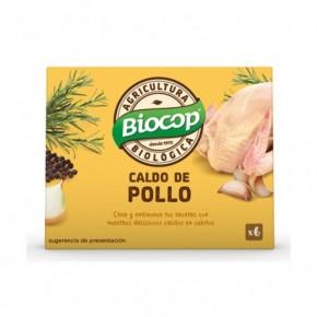 CALDO CUBITOS POLLO BIOCOP  6X11 G
