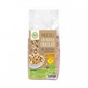 MUESLI DE AVENA CHOCOLATE BIO SIN GLUTEN 425 G, SOL