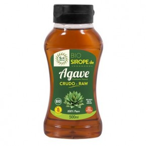 SIROPE DE AGAVE CRUDO-RAW BIO 500 ML, SOL