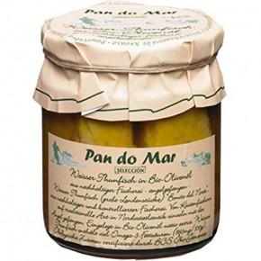 LOMO DE BONITO EN ACEITE OLIVA 195 GR, PAN DO MAR