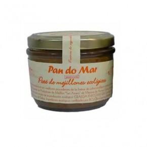 PATE DE MEJILLON 125 GR, PAN DO MAR