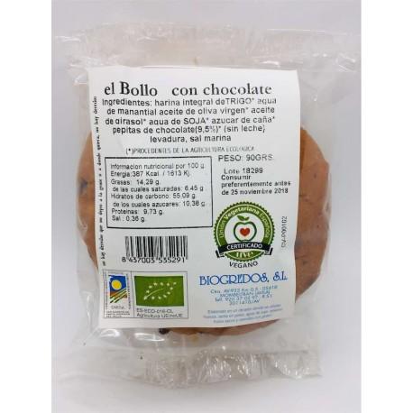 El bollo de chocolate -unidad- 90 grs.