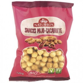 SNACK MIJO CACAHUETE 120 GR