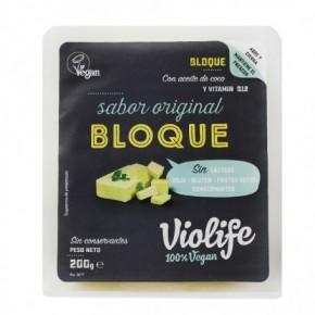 BLOQUE VEGANO SABOR QUESO ORIGINAL (F), 200 g