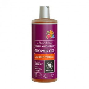 GEL BAÑO FRUTOS ROJOS URTEKRAM     500ML