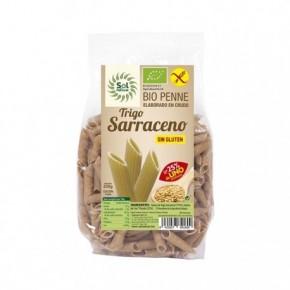 PENNE TRIGO SARRACENO-LINO BIO S/GLUTEN 250 G, SOL