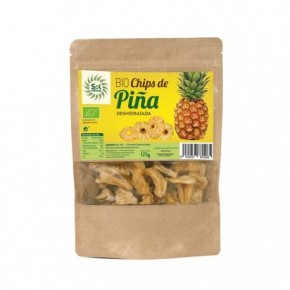 CHIPS DE PIÑA BIO 125 G, SOL NATURAL