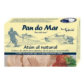 ATUN AL NATURAL 120 GR, PAN DO MAR