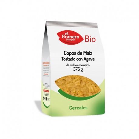 COPOS DE MAIZ TOSTADOS C/ AGAVE BIO 375GR, EL GRANERO