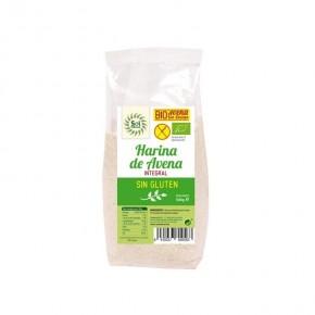 HARINA DE AVENA SIN GLUTEN BIO 500 G, SOL NATURAL