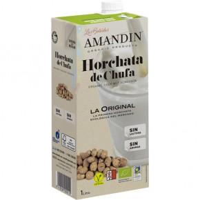 HORCHATA DE CHUFA ECOLOGICA 1 L. AMANDIN